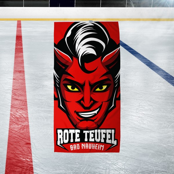Badetuch ROTER TEUFEL